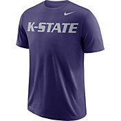 Nike Men's Kansas State Wildcats Purple Wordmark T-Shirt