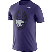 Nike Men's Kansas State Wildcats Purple Dri-FIT Football Icon T-Shirt
