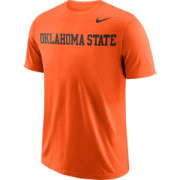 Nike Men's Oklahoma State Cowboys Orange Wordmark T-Shirt