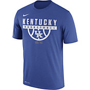 Nike Men's Kentucky Wildcats Blue ELITE Basketball Legend T-Shirt