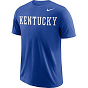 Nike Men's Kentucky Wildcats Blue Wordmark T-Shirt