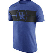 Nike Men's Kentucky Wildcats Blue Logo Basketball T-Shirt