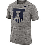 Nike Men's Illinois Fighting Illini Charcoal Football Dri-FIT Travel T-Shirt