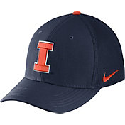 Nike Men's Illinois Fighting Illini Blue Aerobill Swoosh Flex Classic99 Hat