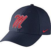 Nike Men's Ole Miss Rebels Blue Dri-FIT Wool Classic Hat