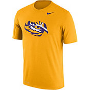 Nike Men's LSU Tigers Gold Logo Dry Legend T-Shirt