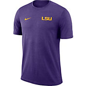 Nike Men's LSU Tigers Purple Coach Football T-Shirt