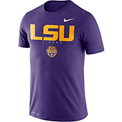 Nike Men's LSU Tigers Purple Football Dri-FIT Facility T-Shirt