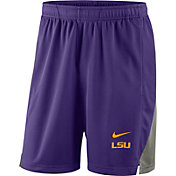 Nike Men's LSU Tigers Purple Franchise Shorts