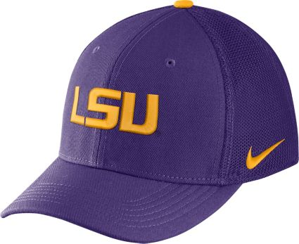 competitive price 0adcc 3c1f8 ... cheapest nike mens lsu tigers purple aerobill swoosh flex classic99 hat  c32bb 948ce