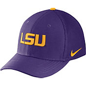Nike Men's LSU Tigers Purple Aerobill Swoosh Flex Classic99 Hat