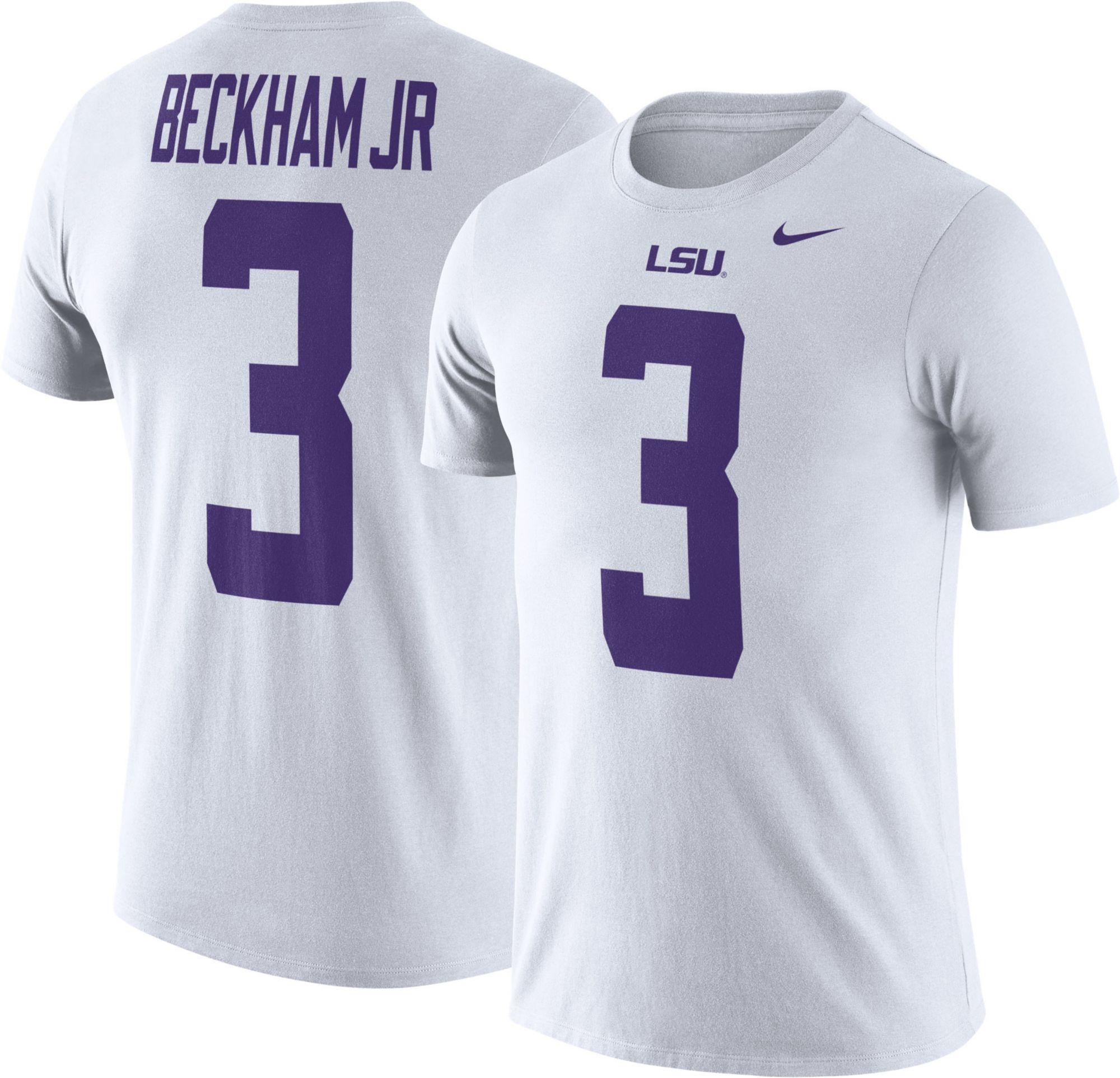 ecb6cdc3575 ... college jerseys 329e6 0c97c; australia nike mens lsu tigers odell  beckham jr. 3 white future star replica football jersey