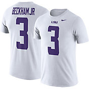 Nike Men's LSU Tigers Odell Beckham Jr. #3 White Future Star Replica Football Jersey T-Shirt