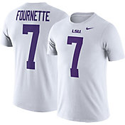Nike Men's LSU Tigers Leonard Fournette #7 White Future Star Replica Football Jersey T-Shirt