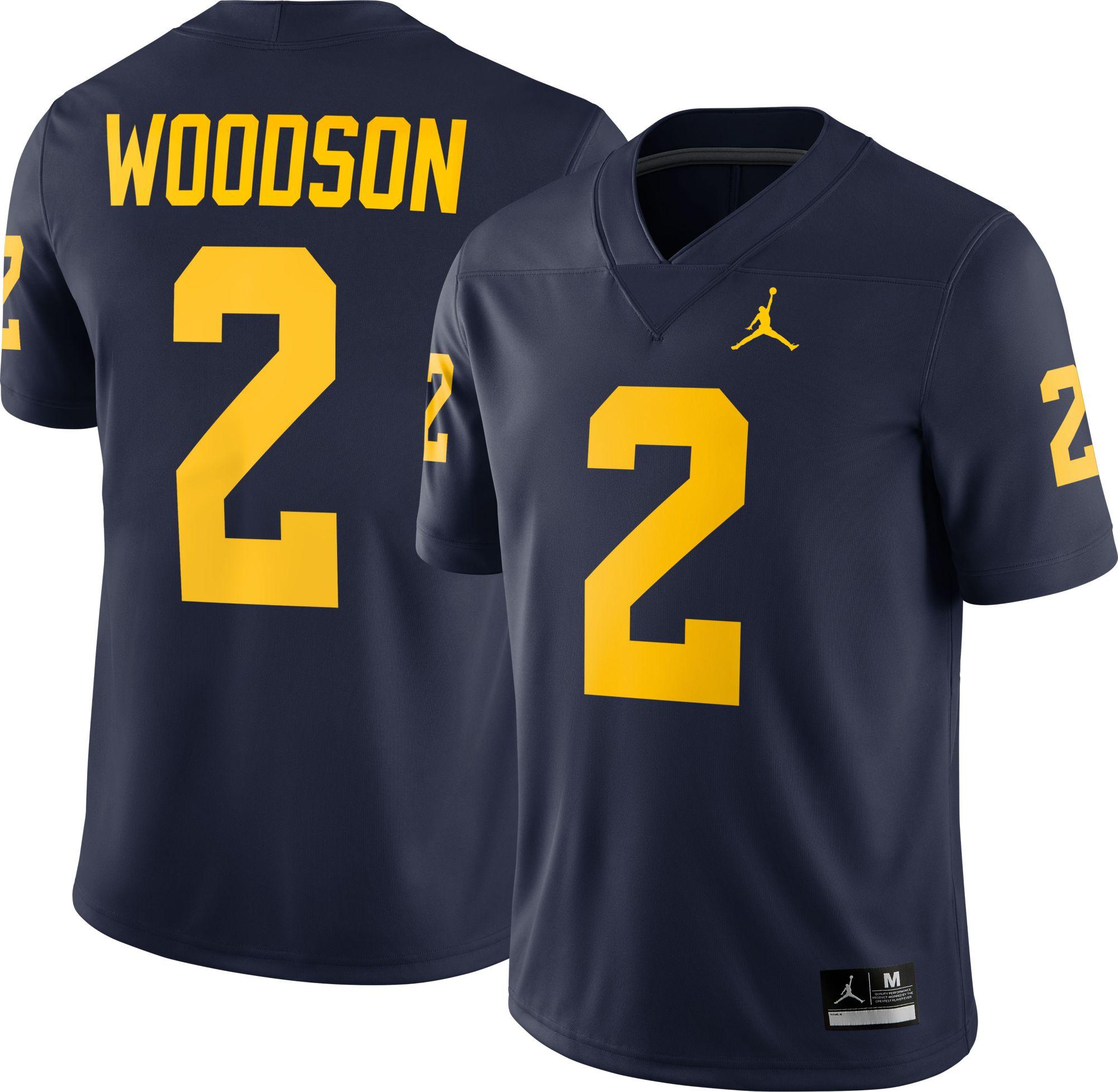 799b160caf2c Jordan Men s Michigan Wolverines Blue Lockdown Football Quarter-Zip Jacket.  ().  47.97. View All. Alternate Images 1 of 3