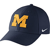 Nike Men's Michigan Wolverines Blue Dri-FIT Wool Classic Hat