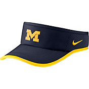 Nike Men's Michigan Wolverines Blue Aerobill Featherlight Visor