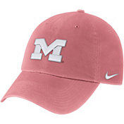 Nike Men's Michigan Wolverines Sea Coral Heritage86 Pigment Silhouette Hat