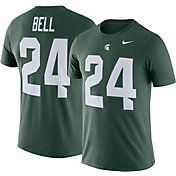 Nike Men's Michigan State Spartans Le'Veon Bell #24 Green Future Star Replica Football Jersey T-Shirt
