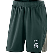 Nike Men's Michigan State Spartans Green Franchise Shorts