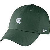 Nike Men's Michigan State Spartans Green Heritage86 Small Logo Adjustable Hat