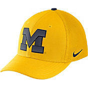 Nike Men's Michigan Wolverines Maize Aerobill Swoosh Flex Classic99 Hat