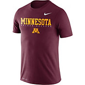 Nike Men's Minnesota Golden Gophers Maroon Football Dri-FIT Facility T-Shirt