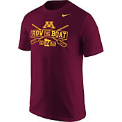 Nike Men's Minnesota Golden Gophers Maroon 'Row the Boat' Football Mantra T-Shirt
