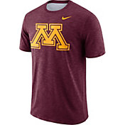 Nike Men's Minnesota Golden Gophers Maroon Dri-FIT Football Sideline Slub T-Shirt
