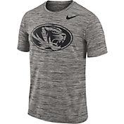 Nike Men's Missouri Tigers Charcoal Football Dri-FIT Travel T-Shirt