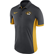 Nike Men's Missouri Tigers Anthracite Evergreen Performance Polo