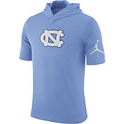 Jordan Men's North Carolina Tar Heels Carolina Blue Basketball Hoodie Performance T-Shirt