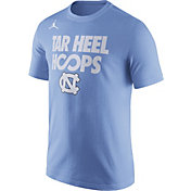 Jordan Men's North Carolina Tar Heels Carolina Blue 'Tar Heel Hoops' Basketball T-Shirt