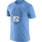 Jordan Men's North Carolina Tar Heels Carolina Blue Dri-FIT Football Icon T-Shirt