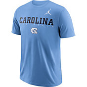 Jordan Men's North Carolina Tar Heels Carolina Blue Football Dri-FIT Facility T-Shirt