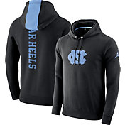 Jordan Men's North Carolina Tar Heels Therma-FIT PHK Elite Basketball Black Pullover Hoodie