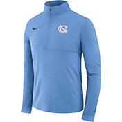 Nike Men's North Carolina Tar Heels Carolina Blue Core Half-Zip Shirt
