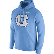 Nike Men's North Carolina Tar Heels Carolina Blue Club Fleece Hoodie