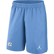Jordan Men's North Carolina Tar Heels Navy Fly Knit Football Shorts