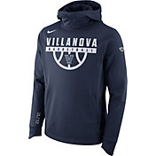 Nike Men's Villanova Wildcats Navy Basketball Performance Elite Therma-FIT Hoodie