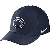 Nike Men's Penn State Nittany Lions Blue Aerobill Swoosh Flex Classic99 Hat
