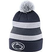 Nike Men's Penn State Nittany Lions Blue Football Sideline Beanie