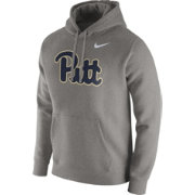 Nike Men's Pitt Panthers Grey Club Fleece Hoodie