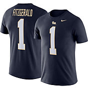 Nike Men's Pitt Panthers Larry Fitzgerald #1 Blue Future Star Replica Football Jersey T-Shirt