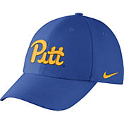 Nike Men's Pittsburgh Panthers Blue Dri-FIT Wool Swoosh Flex Hat