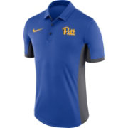 Nike Men's Pitt Panthers Blue Evergreen Vault Performance Polo