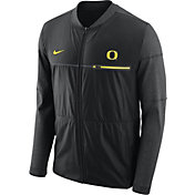 Nike Men's Oregon Ducks Elite Hybrid Football Black Full-Zip Jacket