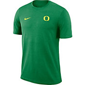 Nike Men's Oregon Ducks Green Coach Football T-Shirt