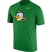 Nike Men's Oregon Ducks Green Logo Dry Legend T-Shirt