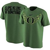Nike Men's Oregon Ducks Apple Green 2017 Football Spring Game Legend T-Shirt